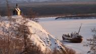 Eine kleine Kapelle nahe der sibirischen Stadt Chersky (Symbolbild)