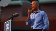 """""""Die Umfragen sind mir egal"""": Barack Obama am Mittwoch in Philadelphia"""
