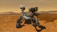 """Der Mars bleibt ein Ami: Die Nasa startet ihren neuen Rover """"Perseverance"""" voraussichtlich am 30. Juli."""