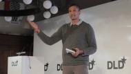 UCLA-Professor Ramesh Srinivasan am Samstag auf der Digitalkonferenz DLD in München