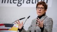 Glaubt nicht, dass sich die SPD mit ihren Plänen durchsetzt: CDU-Chefin Annegret Kramp-Karrenbauer