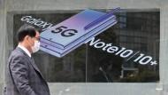 Samsung konnte seinen Betriebsgewinn steigern - trotz Corona-Pandemie.
