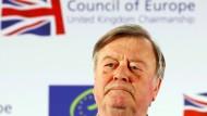 Ken Clarke, Alterspräsident des britischen Unterhauses (Archivbild aus dem Jahr 2012)