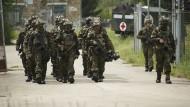 KSK-Soldaten bei der Scharfschützenausbildung im August 2018 in der Schweiz