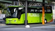 Müssen stehen bleiben: Flixbus macht im November vorerst Pause.