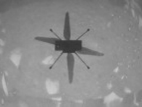 Ingenuity fliegt zum ersten Mal auf dem Mars