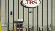 Ein fleischverarbeitender Betrieb der JBS-Gruppe in Greeley, Colorado.