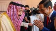 Joko Widodo in Riad