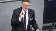 Der parlamentarische Geschäftsführer der Unionsfraktion, Michael Grosse-Brömer (CDU)