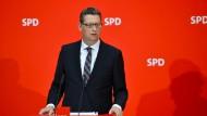 Der kommissarische SPD-Vorsitzende Thorsten Schäfer-Gümbel