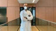 Dr. med. Cihan Çelik und seine Kollegen behandeln Covid-19-Patienten in Darmstadt