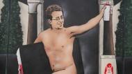 Ist das wirklich Banksy? Eine Berliner Galerie sagt jedenfalls, dieses Kunstwerk sei glaubhaft.