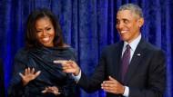 Profis für den großen Auftritt: Michelle und Barack Obama