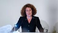 Rachel Salamander im Alten Münchener Rathaus bei der Verleihung der Ehrenbürgerwürde im März 2019 (Archivbild)