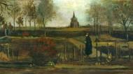 """""""Frühlingsgarten"""" (1884) von Vincent van Gogh"""