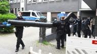 Am Montag: Einsatz gegen Rauschgiftkriminalität in einem Bürogebäude in Essen