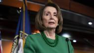 Übt Druck auf Trump aus: die Vorsitzende des Abgeordnetenhauses, Nancy Pelosi.