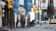 Hier greift die Notbremse: Restaurant in der Innenstadt von Saarbrücken