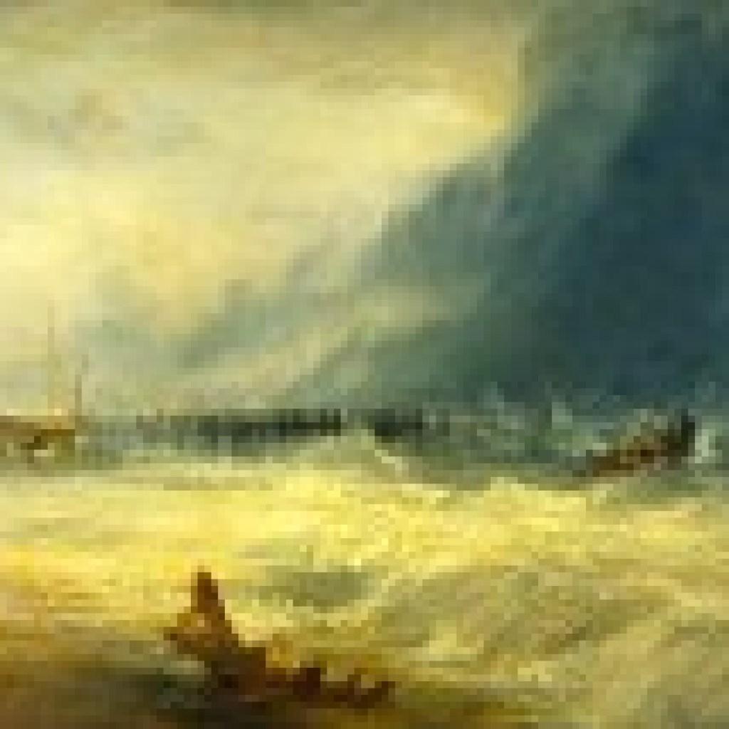 """Frankfurter Anthologie: """"Der Sturm"""" von Johann Joachim Ewald: """"Der Sturm"""""""