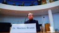 Auch der ehemalige Wirecard-Chef Markus Braun war nicht eben kooperativ während seiner Vernehmung im Untersuchungsausschuss.