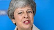 Die britische Premierministerin hofft noch immer, eine Mehrheit in Westminster für ihre Brexit-Pläne zu bekommen.