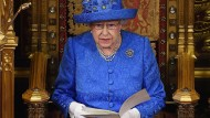 Königin Elisabeth II bei der Queen´s Speech im Jahr 2017