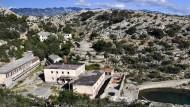 Ort des Grauens: Die ehemalige Gefängnisinsel Goli Otok im heutigen Kroatien