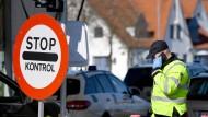 Noch ist sie weitgehend dicht: Die Grenze zwischen Deutschland und Dänemark in Flensburg