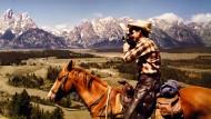 """So reizend, so entzückend, so herzallerliebst! Sympathischer als in der Werbung für den neuen Farbfilm von Eastman Kodak konnte man Amerika und die Amerikaner in den fünfziger Jahren allenfalls noch auf den von Norman Rockwell gemalten Titelseiten der """"Saturday Evening Post"""" sehen. Geradezu biedermeierlich muten manche der Aufnahmen an."""
