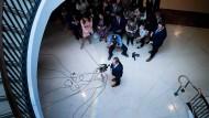 Der Vorsitzende des Geheimdienstausschusses, Adam Schiff von der Demokratischen Partei, am Donnerstag im Kongress