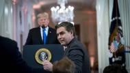 Jim Acosta im Weißen Haus