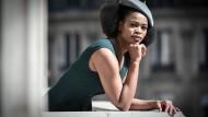 """Die südafrikanische Sopranistin Pretty Yende im September 2019 in Paris, wo sie die Partie der Violetta in Giuseppe Verdis """"La traviata"""" sang."""