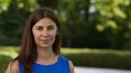 Die Schriftstellerin Tanja Maljartschuk