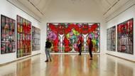 Gilbert & George in Frankfurt: Auf die unfeine britische Art