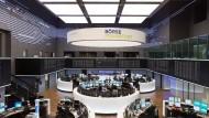 Der Handelssaal der Deutschen Börse in Frankfurt