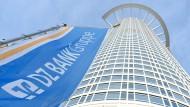 Zentrale der DZ Bank in Frankfurt