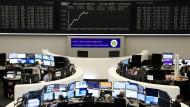 Börsensaal in Frankfurt
