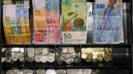 Der Schweizer Franken gilt auch als Fluchtwährung in schweren Zeiten