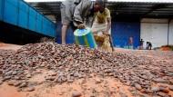 Kakao ist einer der Haupt-Exportartikel Ghanas.