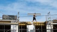 Der Immobilienboom in Deutschland dürfte langsam auslaufen.