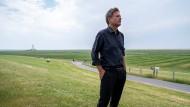 Robert Habeck am Mittwoch auf seiner Küstentour