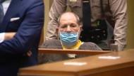 Harvey Weinstein bei der Anhörung in Los Angeles