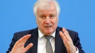 Bundesinnenminister Horst Seehofer (CDU) am Mittwoch auf der Bundespressekonferenz