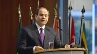 Friedenstaube? Ägyptens Präsident Sisi will den Krieg im Nachbarland offenbar beenden.