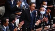 Folgt Shinzo Abe als Ministerpräsident: Yoshihide Suga
