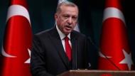 Der türkische Präsident Erdogan hält nichts von den amerikanischen Forderungen.