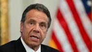 New Yorker Gouverneur Cuomo entschuldigt sich wegen Belästigungsvorwürfen