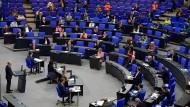 Der Bundestag am Donnerstag