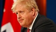 Unter Druck: der britische Premierminister Boris Johnson, hier am 22. April bei einem virtuellen Klima-Gipfel