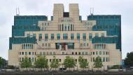 Sitz des britischen Geheimdienstes in London